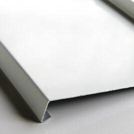 Hajlított Alumínium Ablakpárkány 1 mm-es, fehér
