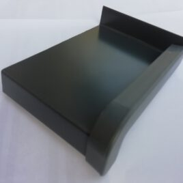 240 mm Hajlított Alumínium Ablakpárkány 1 mm-es, antracit