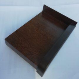 210 mm Hajlított Alumínium Ablakpárkány 1 mm-es, dió