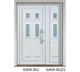 GAVA műanyag bejárati ajtók